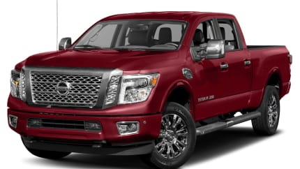 2017 Nissan Titan XD - 4dr 4x2 Crew Cab 6.6 ft. box 151.6 in. WB (Platinum Reserve Diesel)