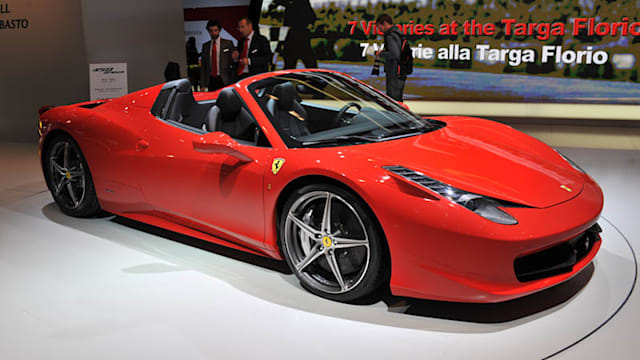 Ferrari 458 Spider Prices Reviews And New Model Information Autoblog
