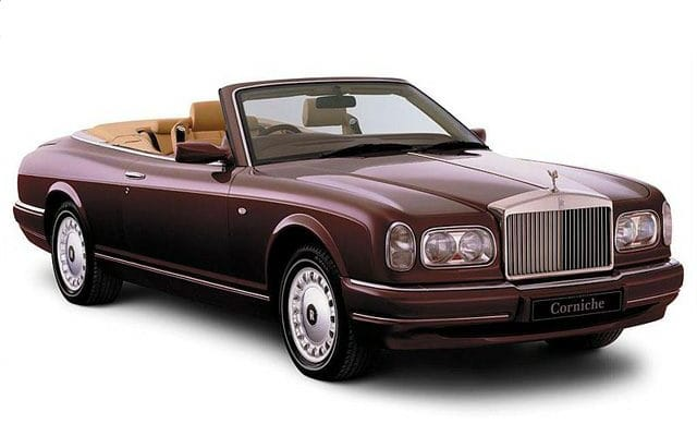 Rolls Royce Corniche Prices Reviews And New Model Information Autoblog