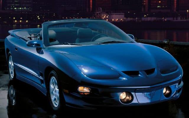 Pontiac Firebird Prices Reviews And New Model Information Autoblog