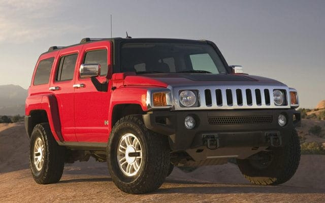 Hummer Models List >> Hummer H3 Suv Prices Reviews And New Model Information Autoblog