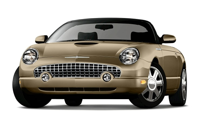 Ford Thunderbird Prices Reviews And New Model Information