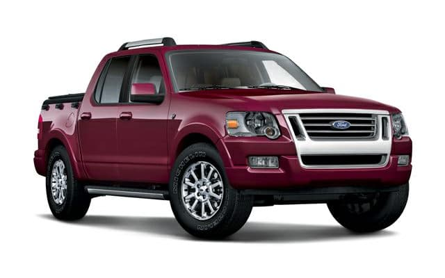 ford explorer sport trac prices reviews and new model. Black Bedroom Furniture Sets. Home Design Ideas