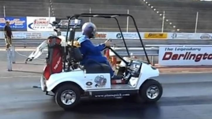 Video  Watch this 118mph golf cart blow away the world record