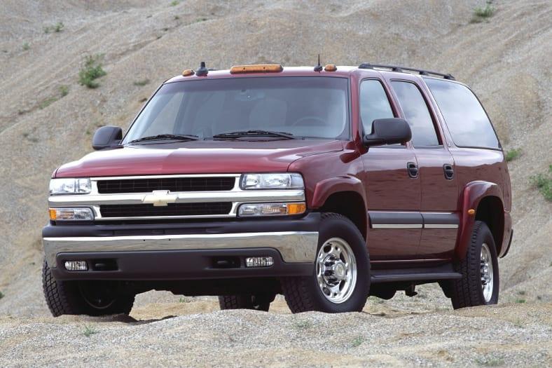 2002 Chevrolet Suburban 2500 Lt 4dr 4x4 Specs And Prices