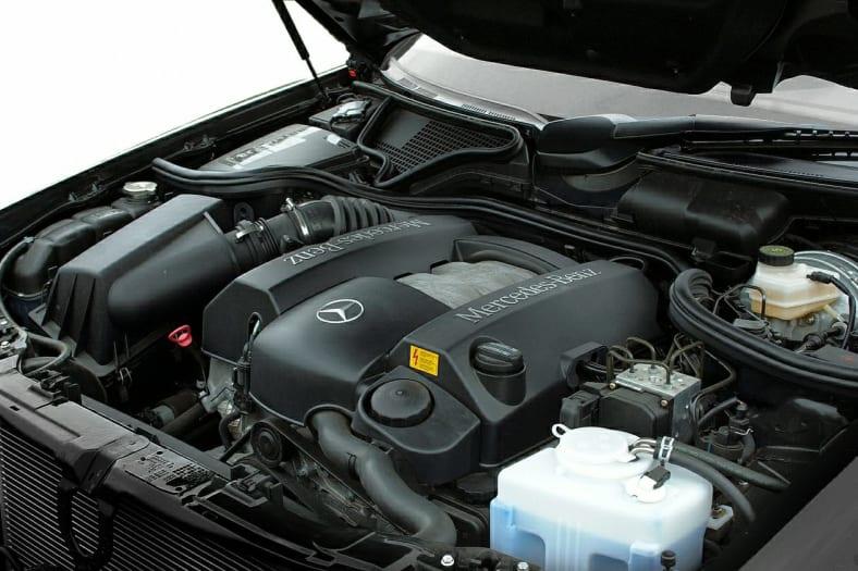 2002 Mercedes-Benz E-Class Exterior Photo