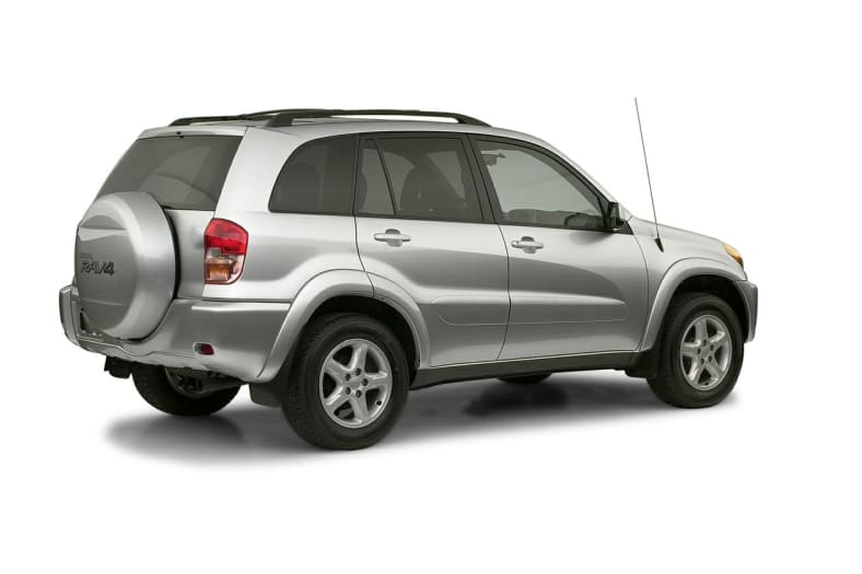 2002 Toyota RAV4 Exterior Photo