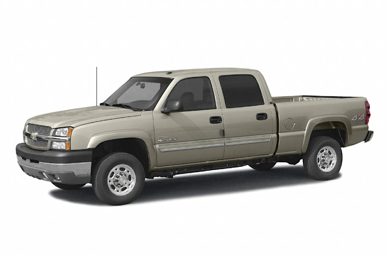 2003 chevrolet silverado 2500hd base 4x2 crew cab 8 ft box 167 1 in wb information. Black Bedroom Furniture Sets. Home Design Ideas