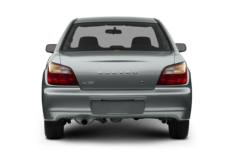 2003 Subaru Impreza Exterior Photo