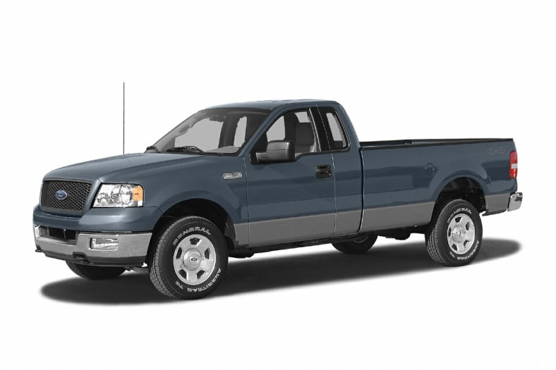 2004 Ford F 150 Xl 4x2 Regular Cab Styleside 8 Ft Box 145 In Wb Pricing And Options