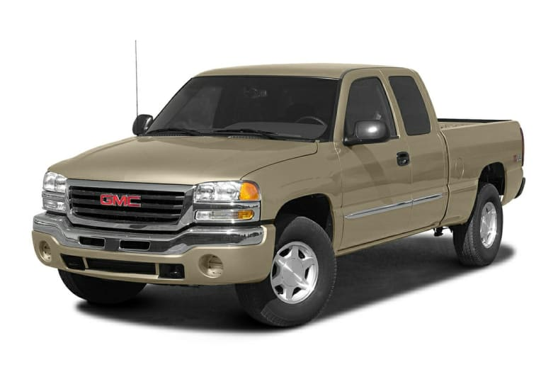 2004 gmc sierra 1500 work truck 4x4 extended cab 6 5 ft box 143 5 in wb information. Black Bedroom Furniture Sets. Home Design Ideas