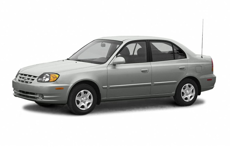 2004 hyundai accent gl 4dr sedan information. Black Bedroom Furniture Sets. Home Design Ideas