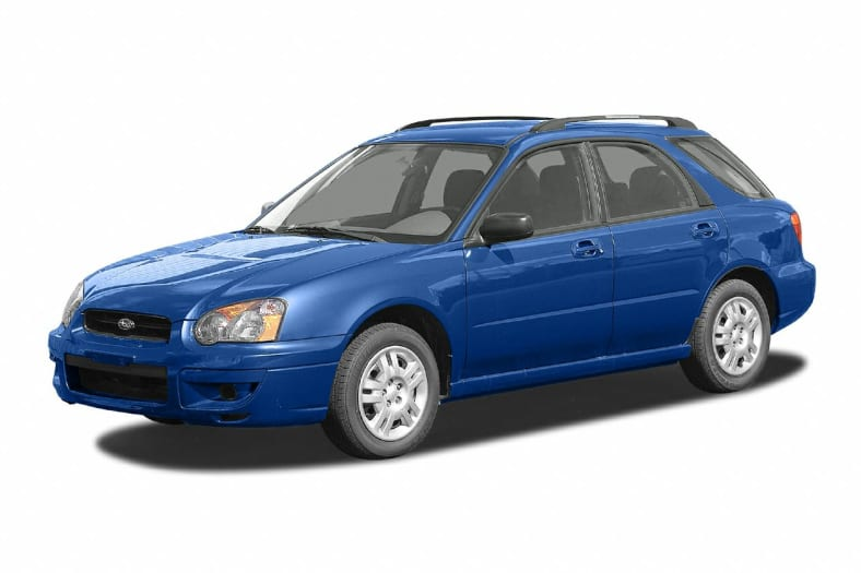 2004 Subaru Impreza Wrx 4dr All Wheel Drive Wagon Information