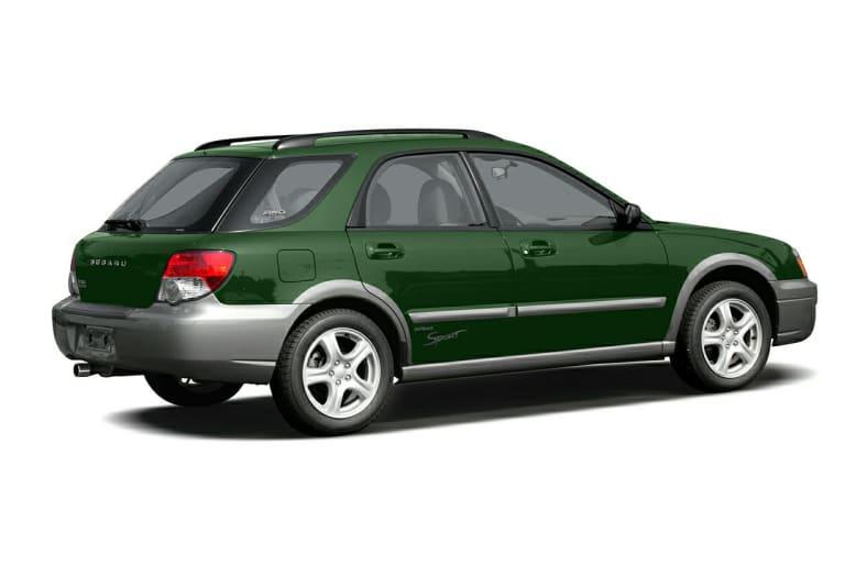 2004 Subaru Impreza Outback Sport Exterior Photo