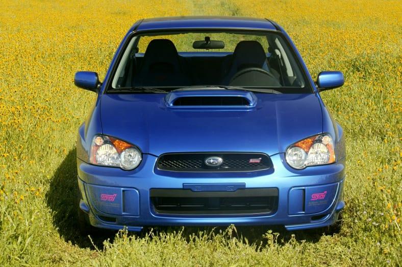 2004 Subaru Impreza WRX STi Exterior Photo