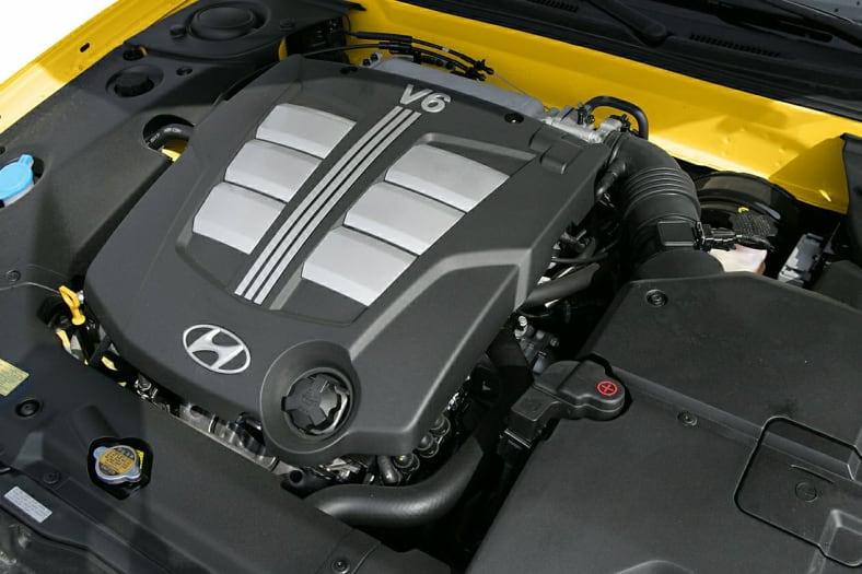 2005 Hyundai Tiburon Exterior Photo