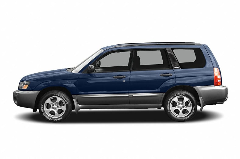 2005 subaru forester 2.5 xs review