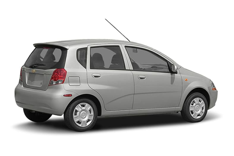 2006 Chevrolet Aveo Lt 4dr Hatchback Pricing And Options