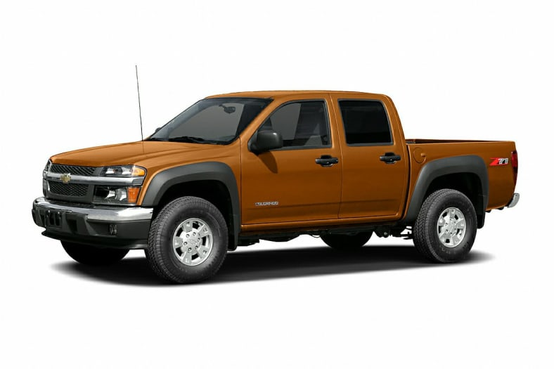 2007 chevrolet colorado lt 4x2 crew cab 5 ft box 126 in. Black Bedroom Furniture Sets. Home Design Ideas