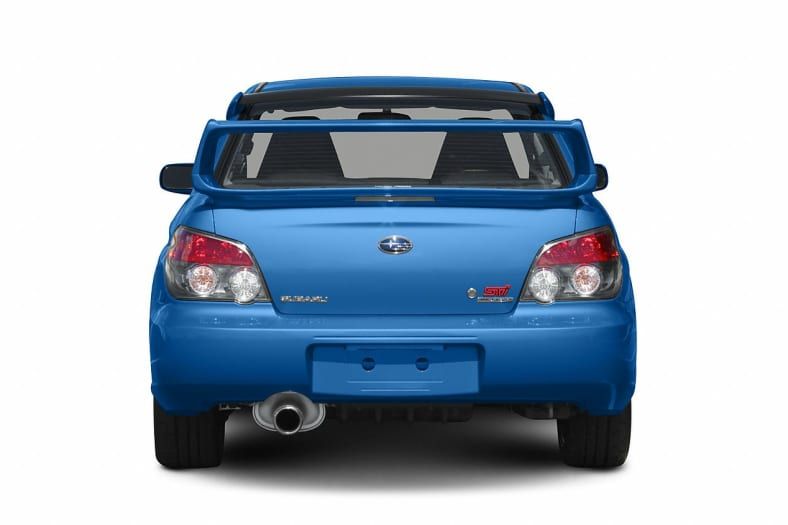 2007 Subaru Impreza Wrx Sti Base Wgold Wheels 4dr All Wheel Drive