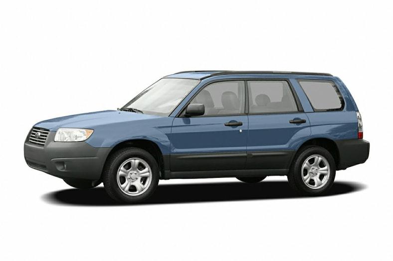 2007 Subaru Forester Information