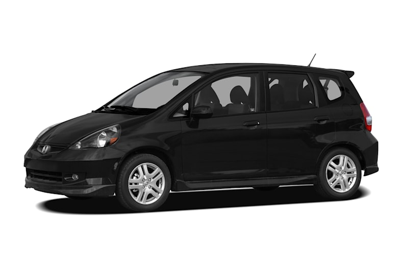 2008 honda fit sport 4dr front wheel drive hatchback information. Black Bedroom Furniture Sets. Home Design Ideas