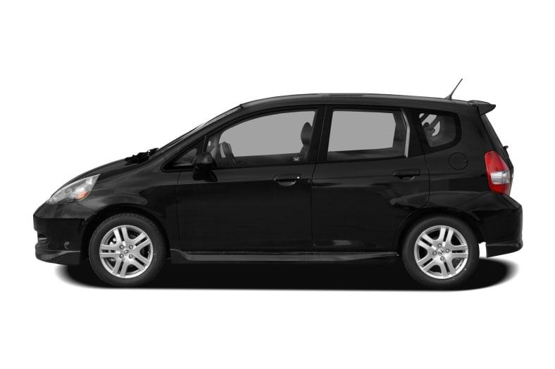 2008 honda fit sport 4dr front wheel drive hatchback pictures. Black Bedroom Furniture Sets. Home Design Ideas