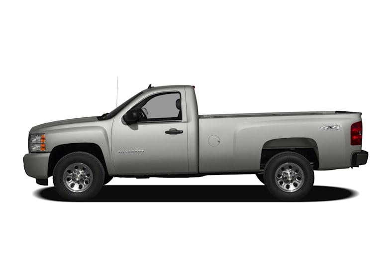 2009 chevrolet silverado 1500 work truck 4x4 regular cab 8 ft box 133 in wb pictures. Black Bedroom Furniture Sets. Home Design Ideas