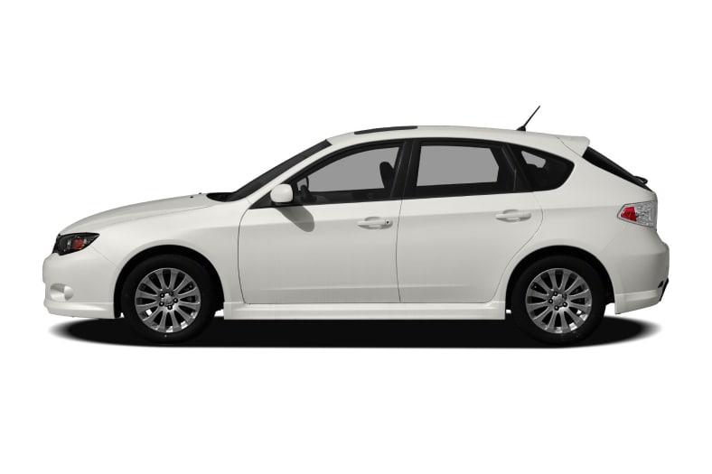 2009 subaru impreza hatchback dimensions