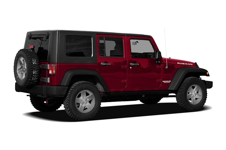 2010 Jeep Wrangler Unlimited Sahara 4dr 4x4 Safety Features