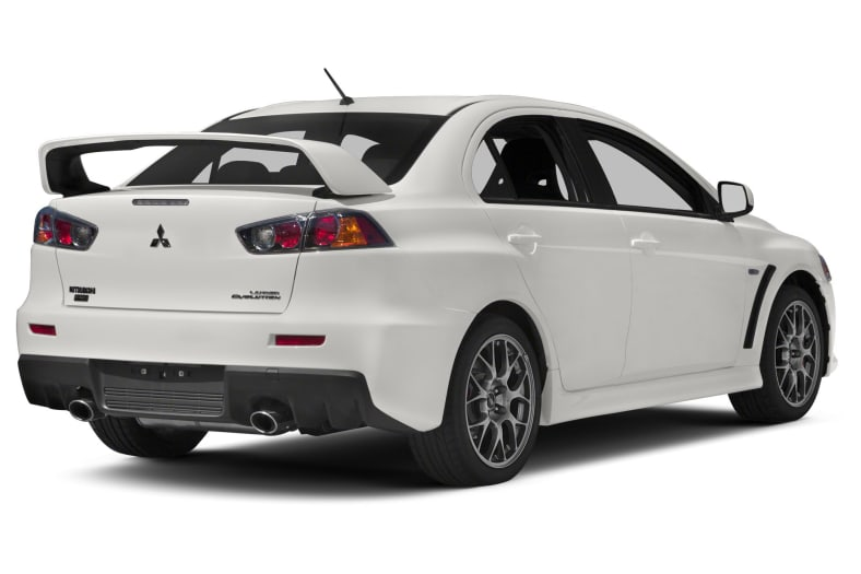 2011 Mitsubishi Lancer Evolution Exterior Photo