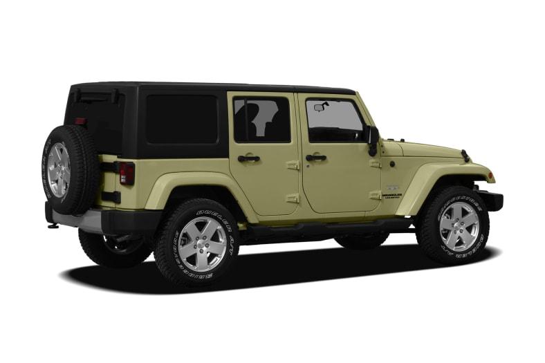 2012 Jeep Wrangler Unlimited Exterior Photo