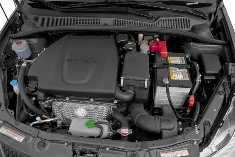 2012 Suzuki SX4 Exterior Photo