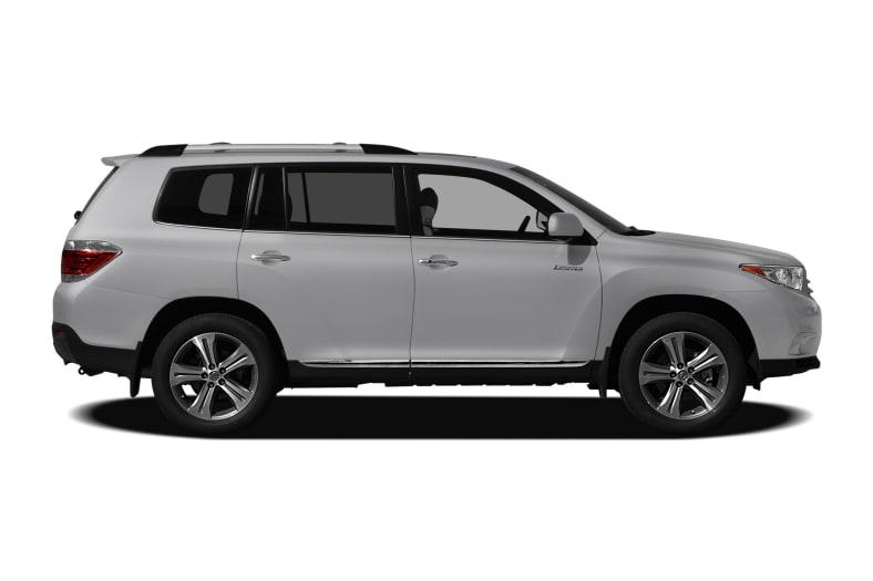 2012 toyota highlander standard features