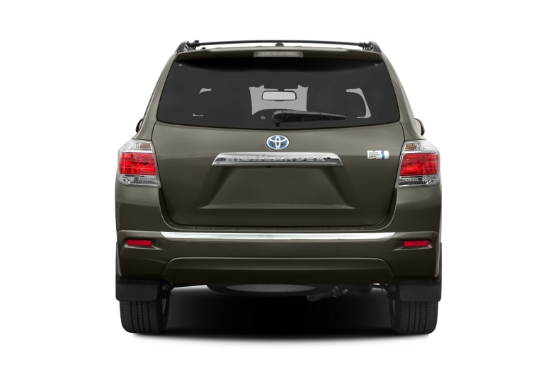 Great 2012 Toyota Highlander Hybrid Exterior Photo