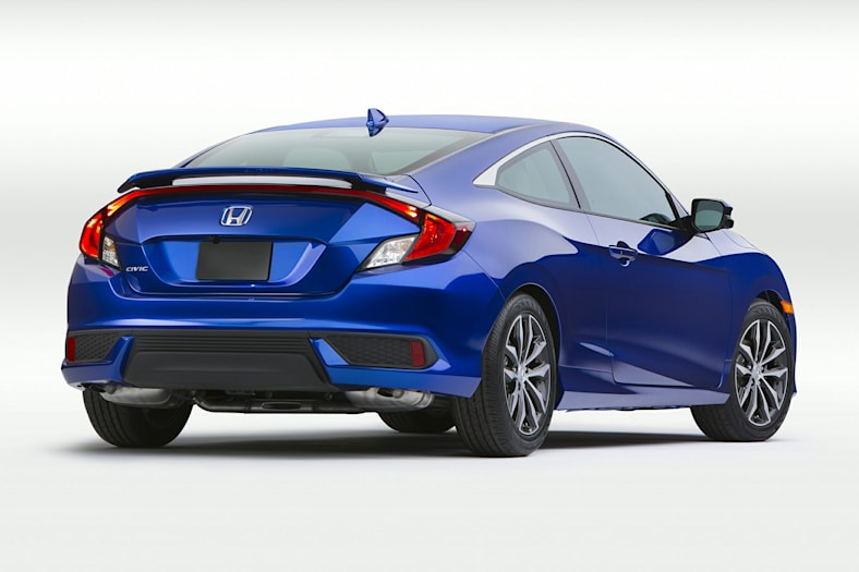 2010 Honda Civic Coupe For Sale >> 2018 Honda Civic EX-L 2dr Coupe Pictures