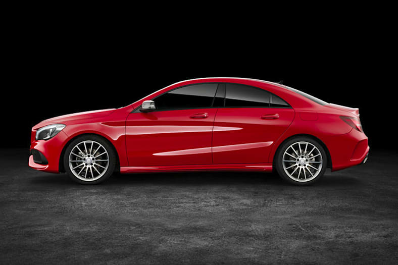 2017 mercedes benz cla class pictures. Black Bedroom Furniture Sets. Home Design Ideas
