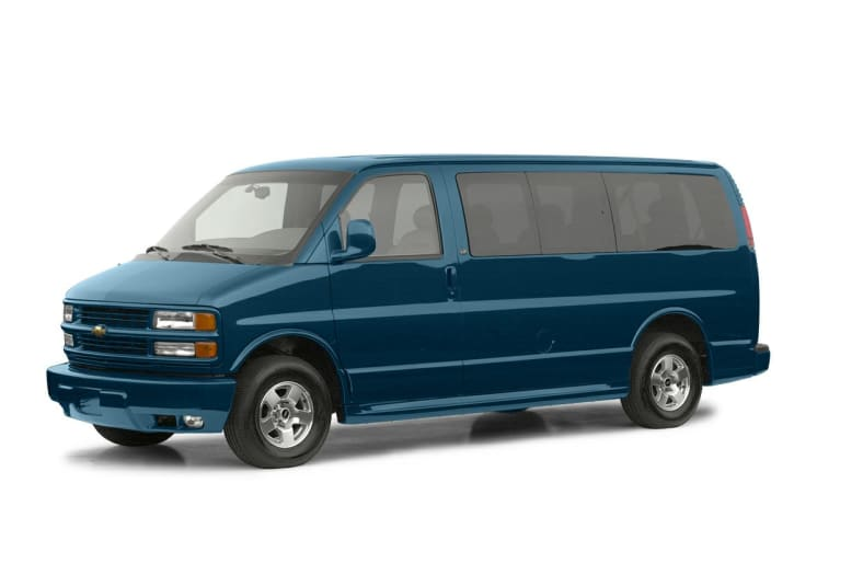 2002 Chevrolet Express LT Exterior Photo