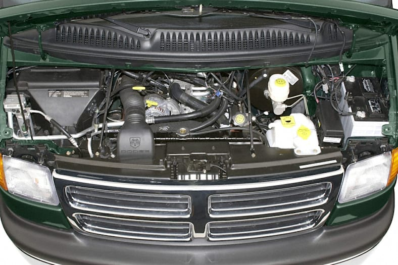 2002 Dodge Ram Wagon 3500 Exterior Photo