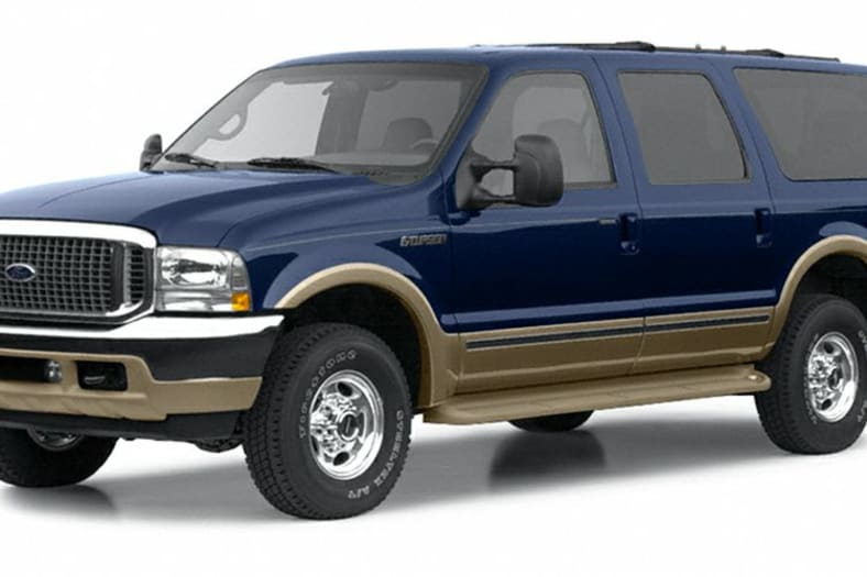 2002 Ford Excursion Exterior Photo