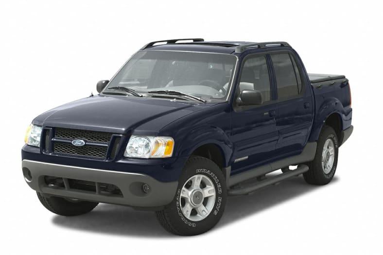 2002 Ford Explorer Sport Trac Exterior Photo