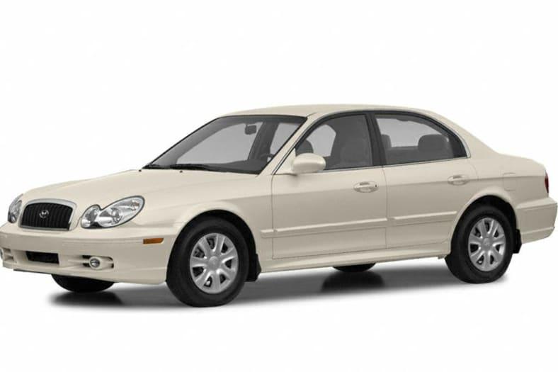 2002 Hyundai Sonata Exterior Photo