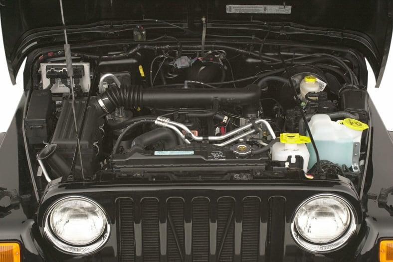 2002 Jeep Wrangler Exterior Photo