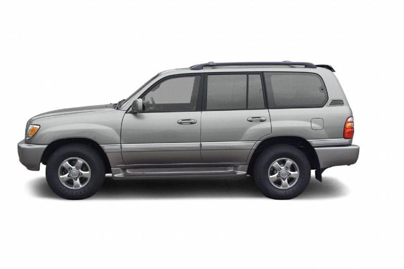 2002 Toyota Land Cruiser Exterior Photo