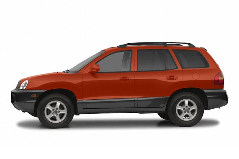 2003 Hyundai Santa Fe Exterior Photo