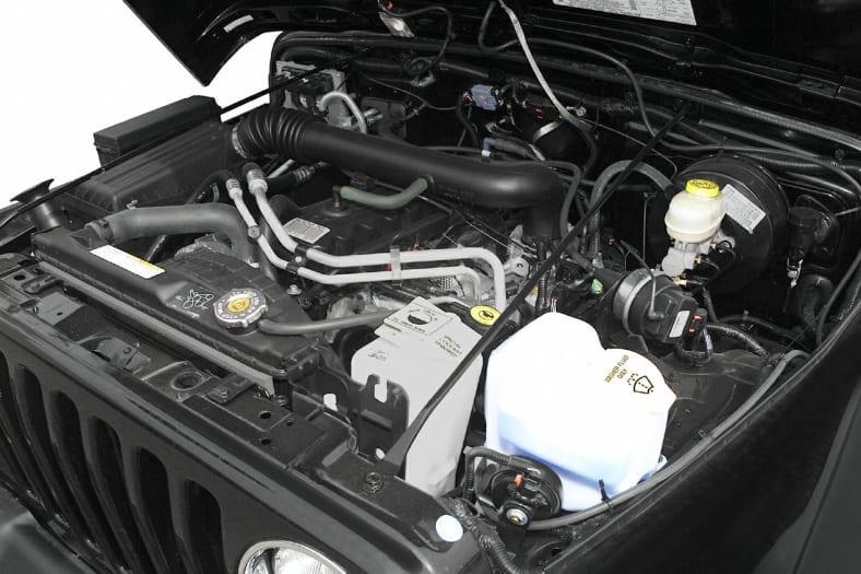 2003 Jeep Wrangler Exterior Photo