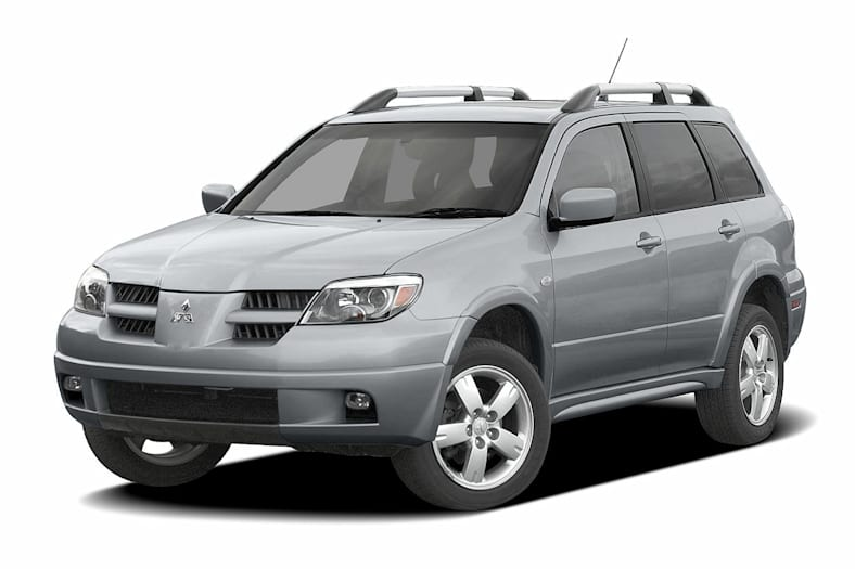 2004 Mitsubishi Outlander Xls All Wheel Drive Information