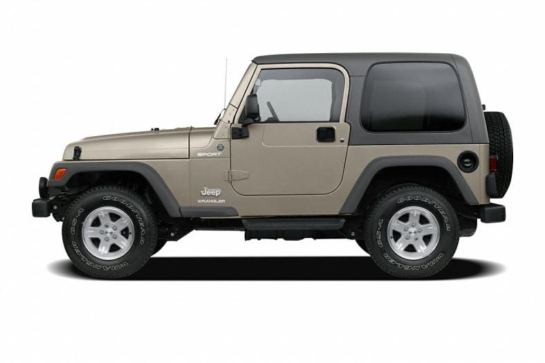 Difference Between Wrangler Models >> 2005 Jeep Wrangler Information