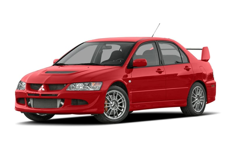 2005 Mitsubishi Lancer Evolution Exterior Photo