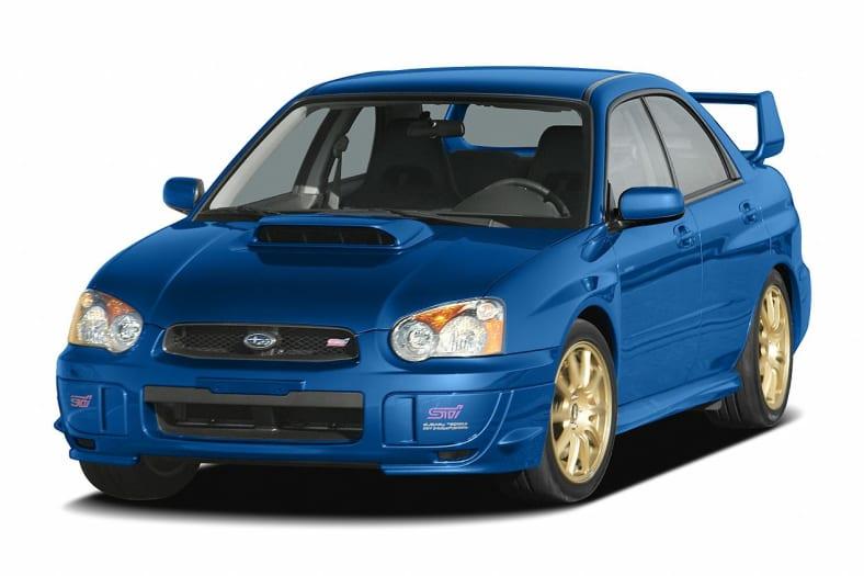 2005 Subaru Impreza Wrx Sti Information